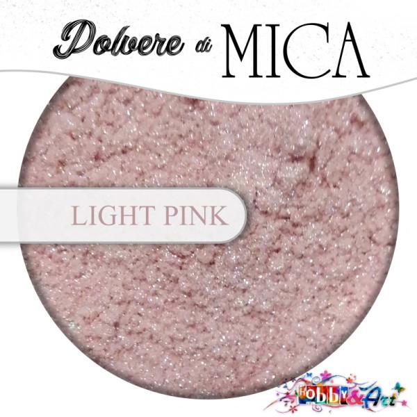 Pigmento in Polvere di Mica - LIGHT PINK