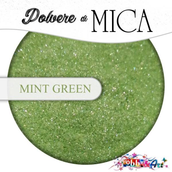 Pigmento in Polvere di Mica - MINT GREEN