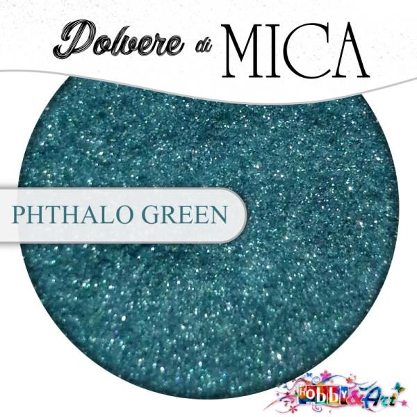 Pigmento in Polvere di Mica - PHTHALO GREEN