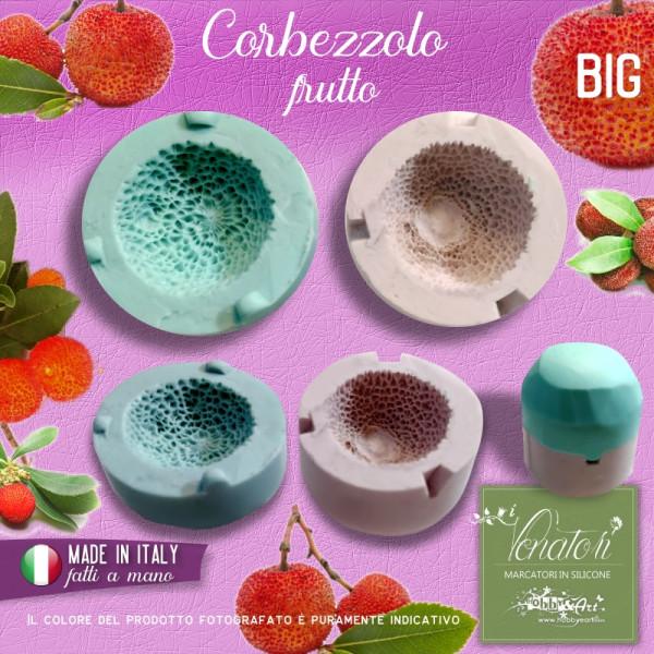 Stampo in silicone bivalva frutto di Corbezzolo