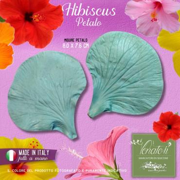 Venatore in silicone Hibiscus, petalo 8,0 x 7,6 cm - ITA