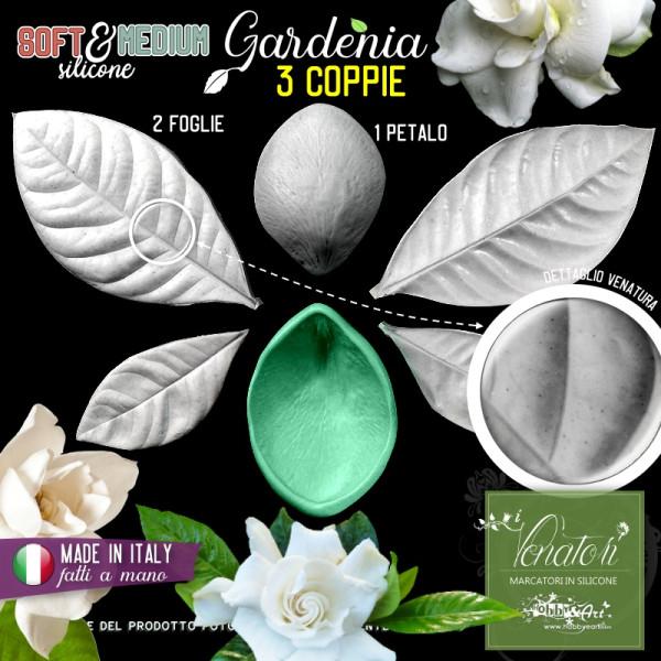 Venatore in silicone Gardenia, Set 1 - Linea SM ITA