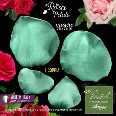 Venatore in silicone petalo di Rosa, 7,5 x 7,0 cm ITA