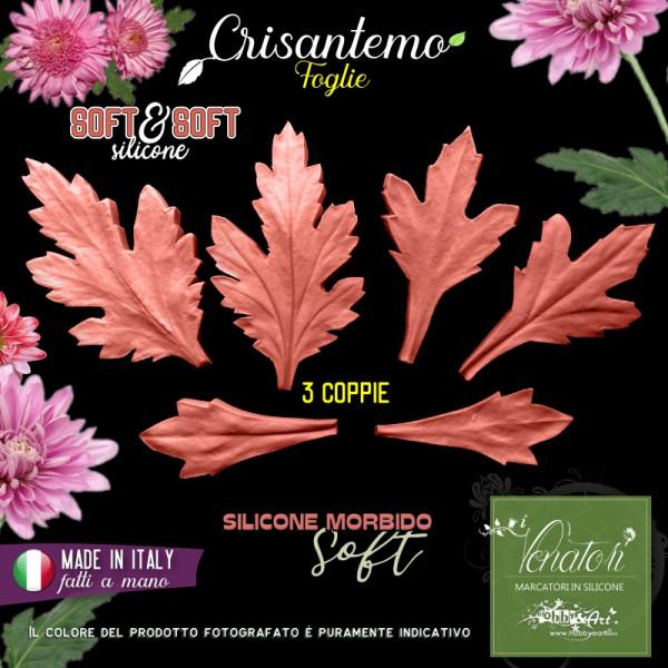 Venatore in silicone Crisantemo 3 foglie - Linea SS ITA