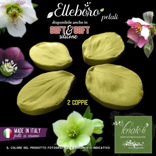 Venatore in silicone Elleboro 2 petali - ITA