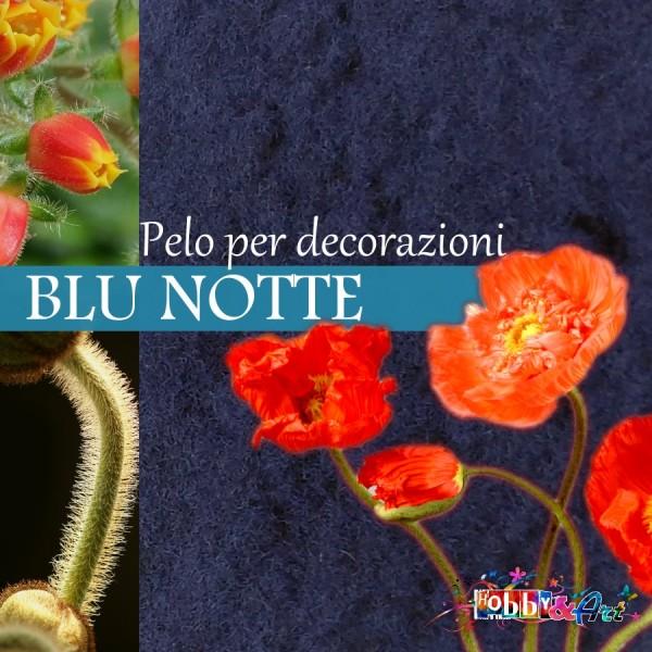 Pelo per fiori e decorazioni - Blu notte