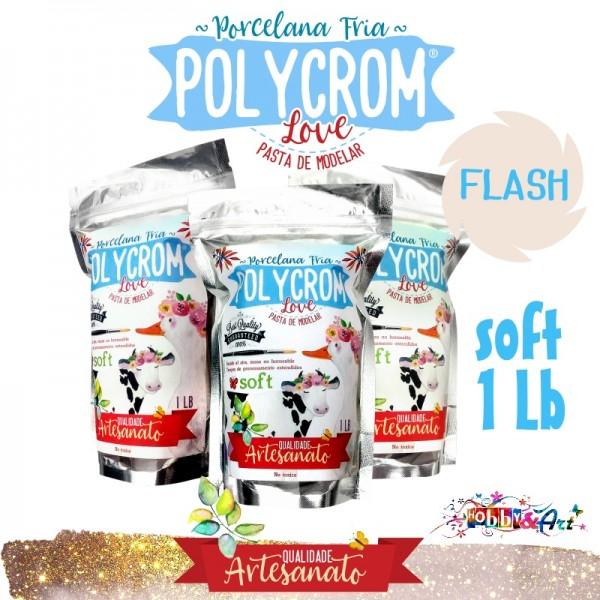 Porcelana Fria POLYCROM SOFT 1Lb - Flash