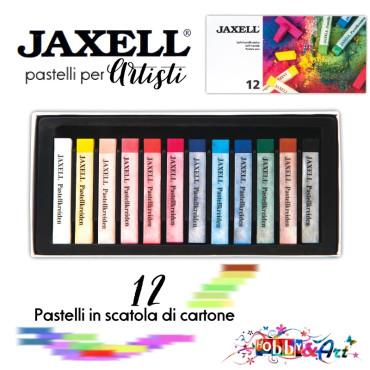 12 pastelli secchi per artisti Jaxell