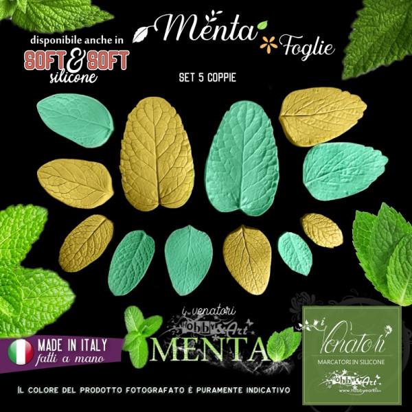 Venatore in silicone MENTA 6 foglie - ITA