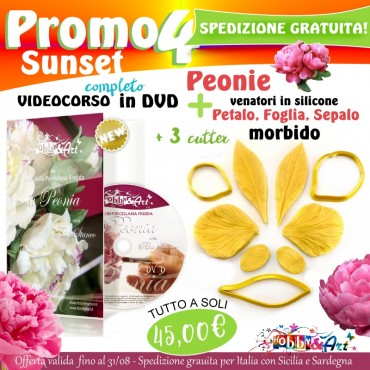 PROMO 4 - DVD Peonie + Venatori e Cutter Peonia