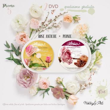 PROMO 5 - DVD Rose e Rose Antiche + DVD Peonie con spedizione gratuita
