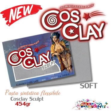 CosClay Sculpt Gray - Soft
