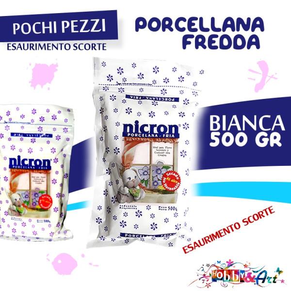 NICRON Porcellana fredda CLASSICA 500gr