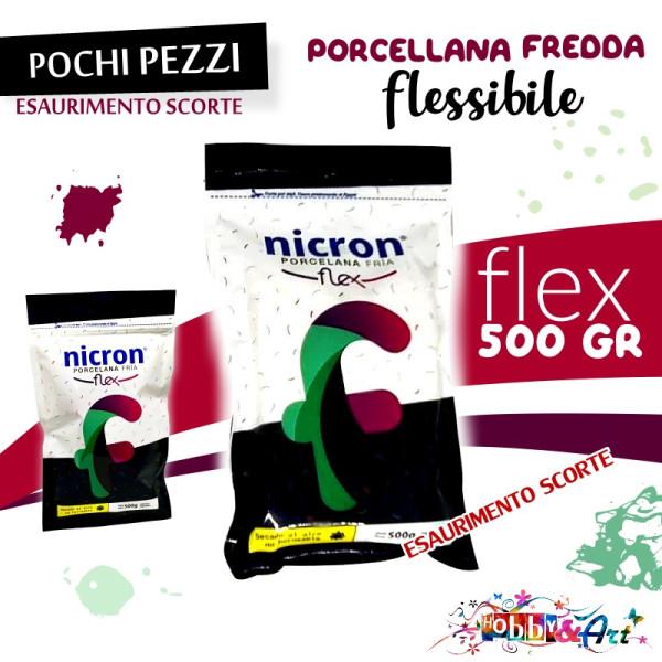 NICRON Porcellana fredda FLEX flessibile 500gr