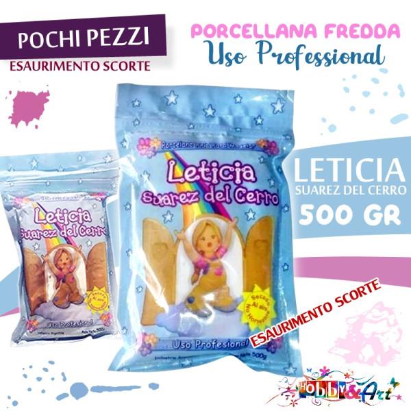 NICRON Porcellana fredda LETICIA SUAREZ DEL CERRO 500gr
