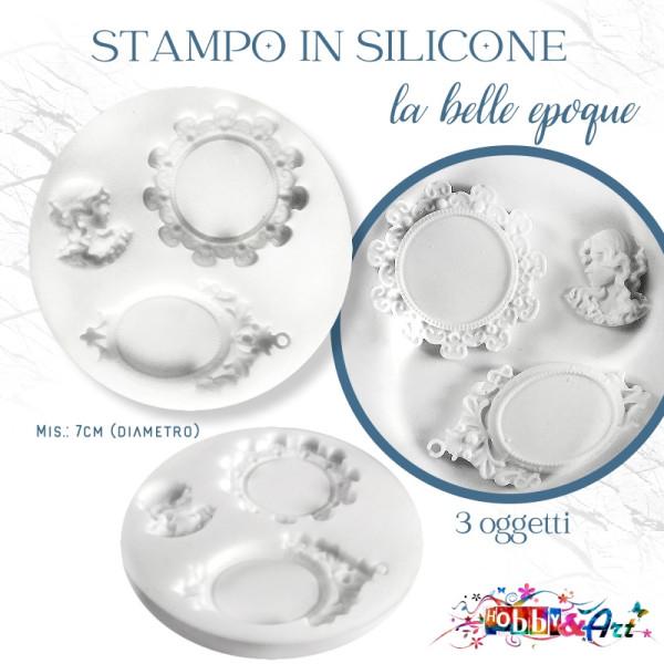 Stampo in silicone La Belle Epoque