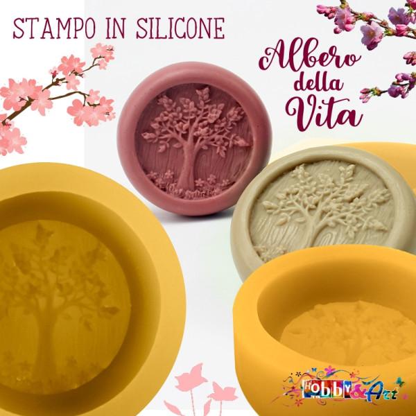 Stampo in silicone Albero della Vita