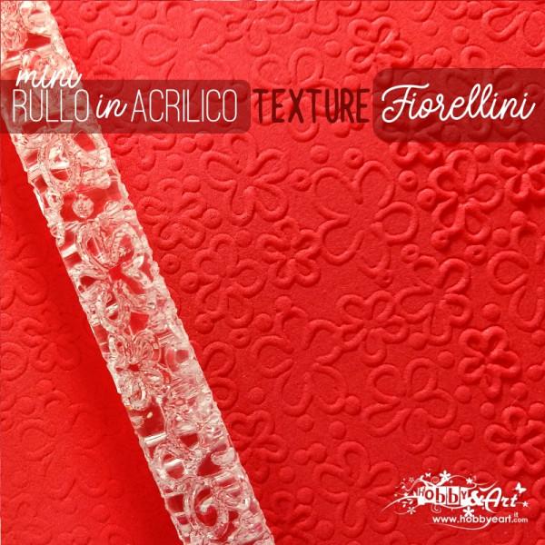Rullo stendipasta con motivo texture Fiorellini