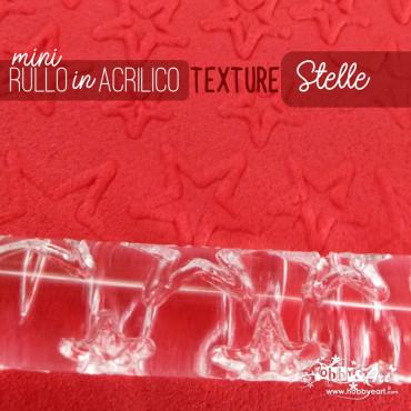 Rullo stendipasta con motivo texture Stelle