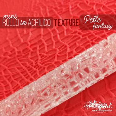 Rullo stendipasta con motivo texture Pelle fantasy