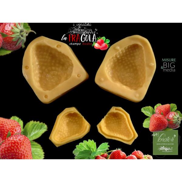 Stampi in silicone FRAGOLE 2 Frutti - ITA
