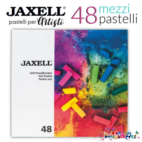 48 mezzi pastelli secchi per artisti Jaxell
