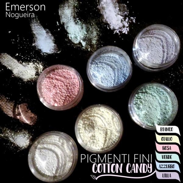 Pigmenti Fini in polvere COTTON CANDY 6 colori
