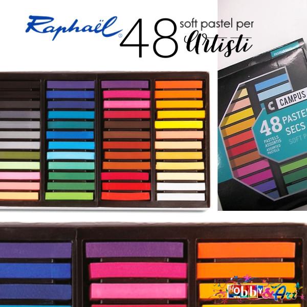 48 soft pastel per artisti Raphaël Campus