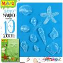 Makin's - Stampo morbido tema MARINO