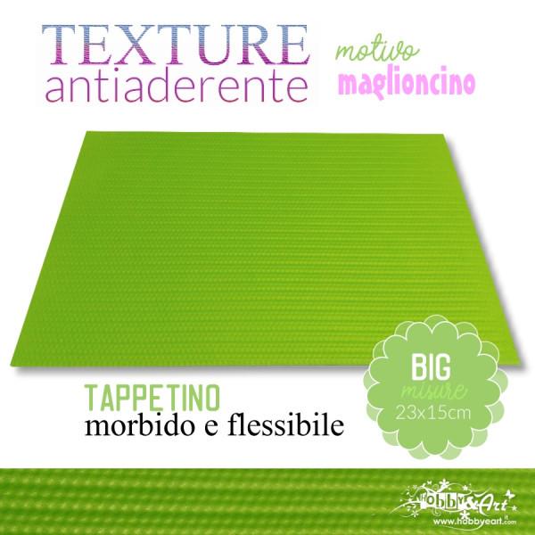 Tappeto antiaderente texture motivo MAGLIONCINO