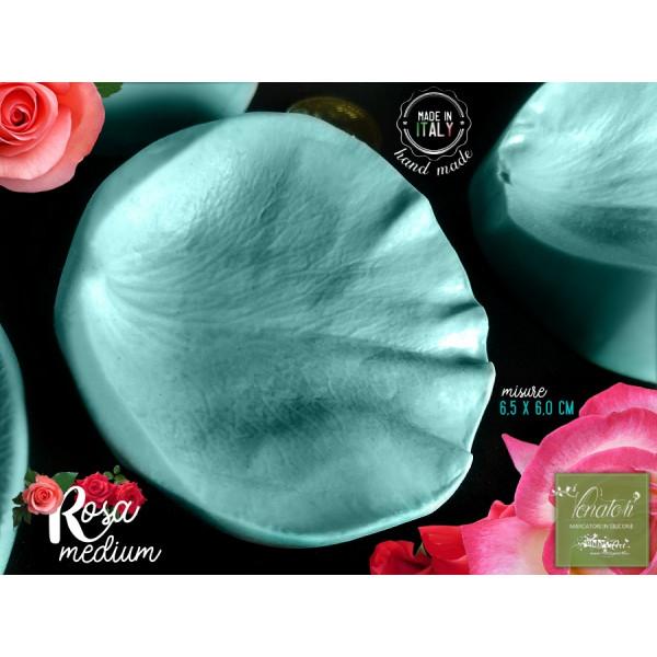 Venatore in silicone petalo di Rosa Cadillac, 6,5 x 6,0 cm - ITA