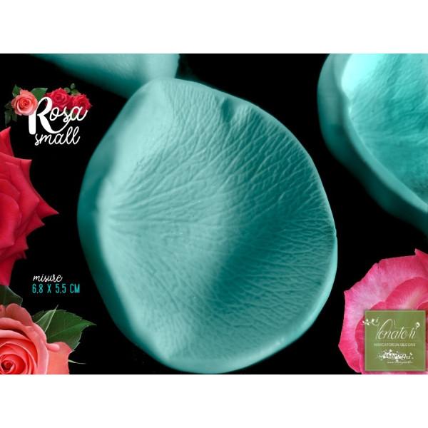 Venatore in silicone petalo di Rosa, 6,8 x 5,5 cm ITA