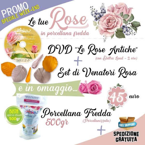 LE TUE ROSE IN PORCELLANA FREDDA - Speciale Week-End