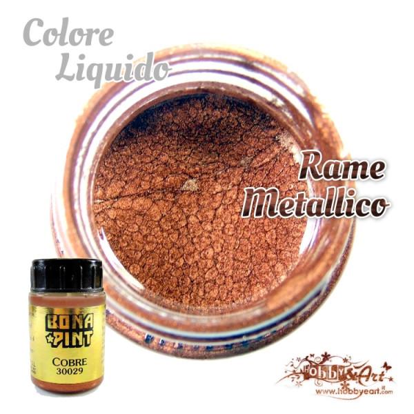 Colore Rame metallico