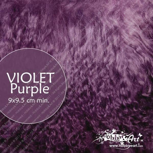 Capelli in lana tibetana - Violet / Purple