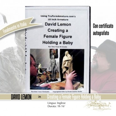 DVD Create a Female Figure Holding a Baby