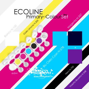 Ecoline - Primary Color Set, 6 colori