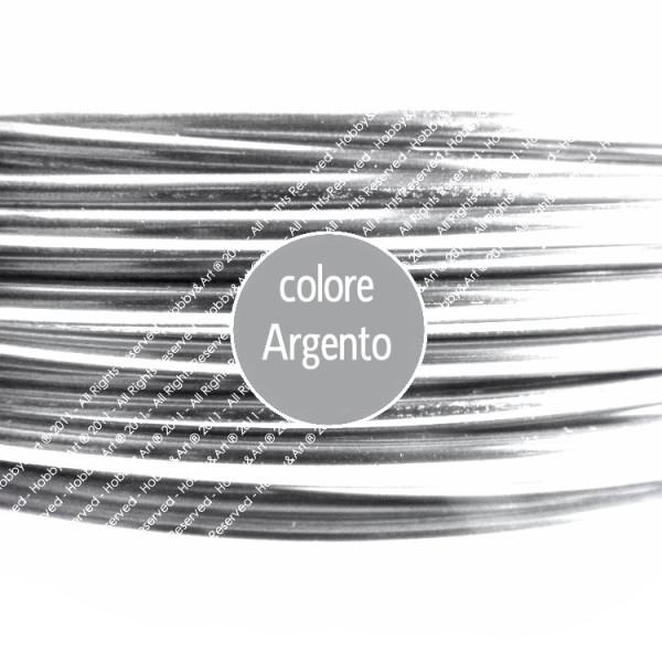 Filo alluminio cotto 2mm - ARGENTO