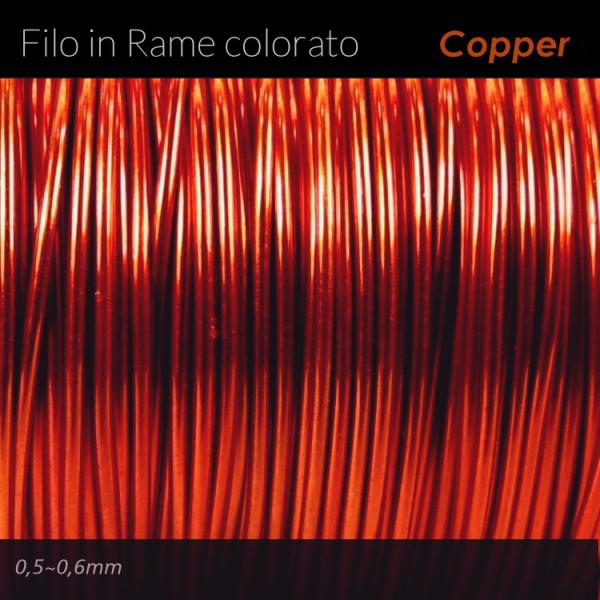 Filo di rame colorato - Copper