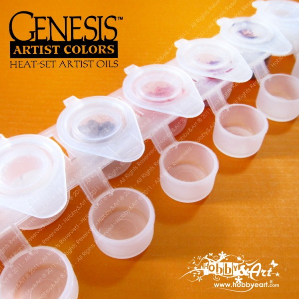 Genesis Kit incarnato e Labbra - 6 colori + medium