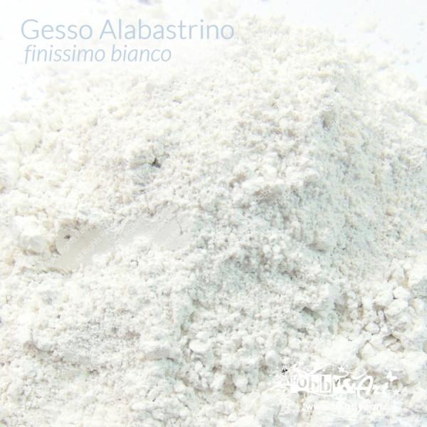 Gesso alabastrino Bianco finissimo 1Kg