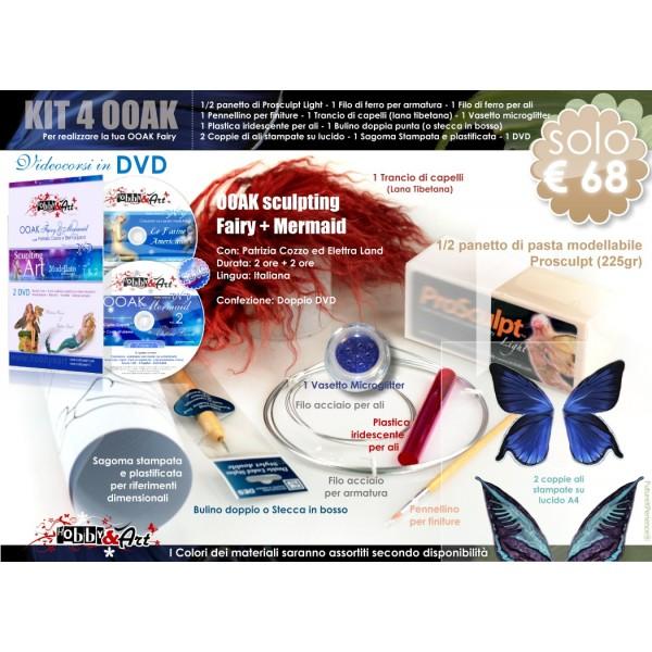 Kit OOAK base + doppio DVD OOAK