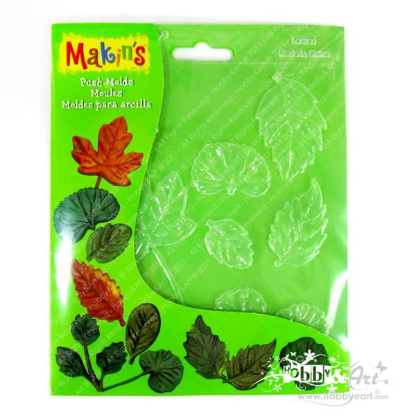 Makin's - Stampi morbidi per paste, 7 foglie