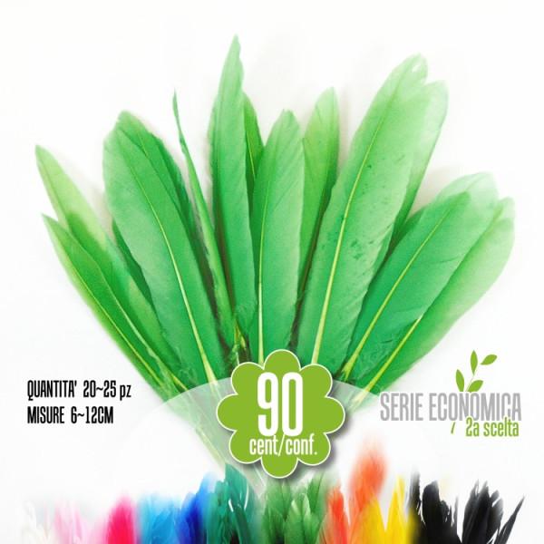 Penne Verde Chiaro, 20-25 pz serie economica