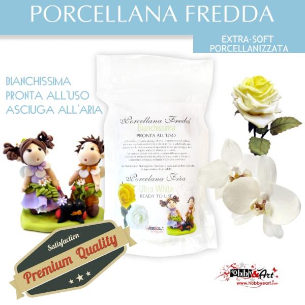 Porcellana Fredda - EXTRA-SOFT PORCELL. 500gr