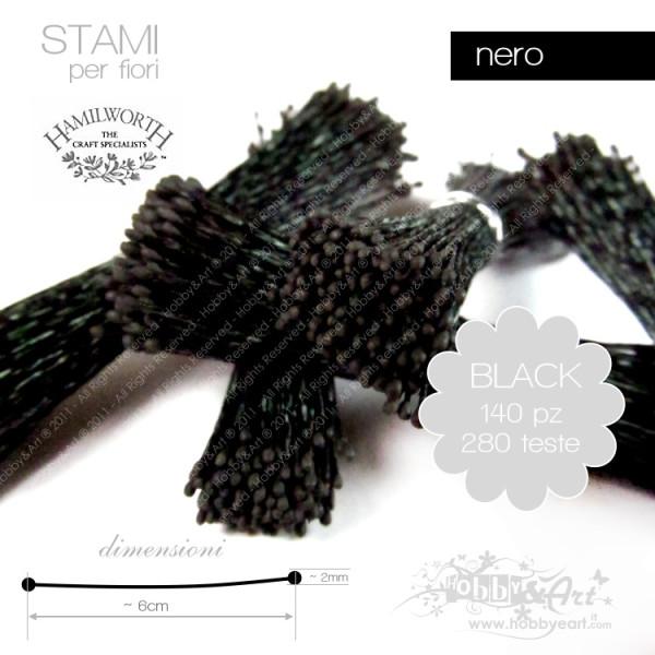 Stami Hamilworth - Nero 1mm - 140pz