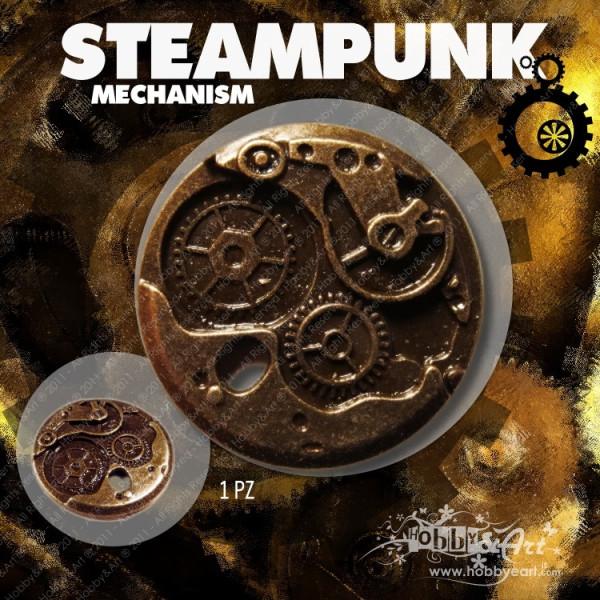 Steampunk Mechanism in metallo - 1pz