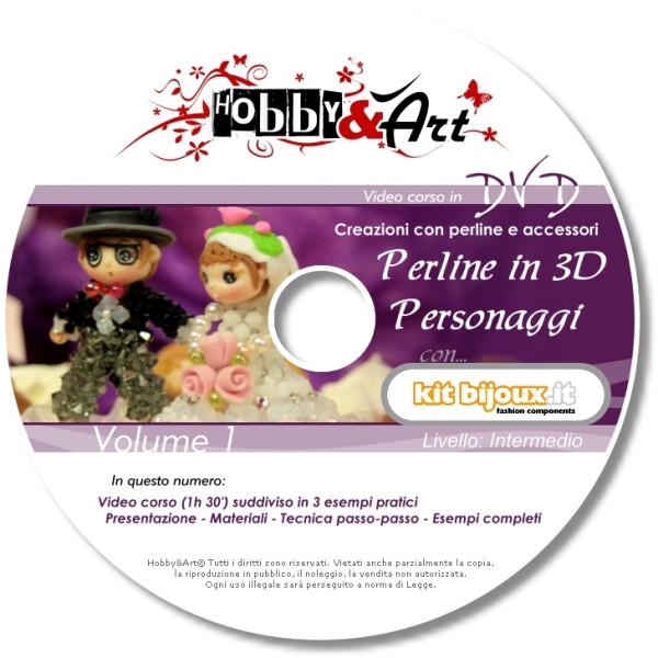 Perline 3D - 3 personaggi