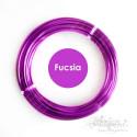 Filo alluminio cotto 2mm - FUCSIA