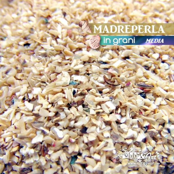 Madreperla in grani - Misura 1.8 - 2.5 mm